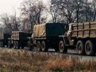На територію України через Ізварине зайшли бронетранспортери та півсотні вантажівок з боєприпасами