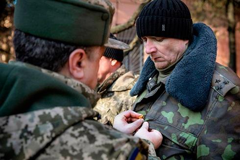Президент присвоїв звання Героя України полковнику Сергію Шапталі - фото