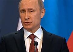 Путін: США вже постачає Україні зброю - фото