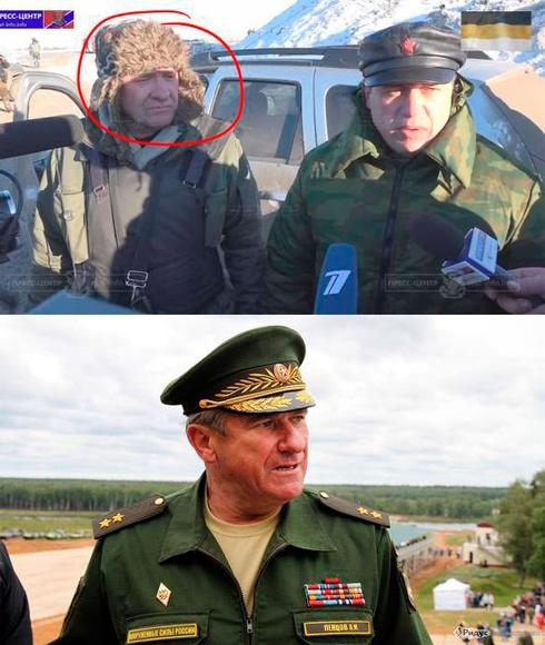 Російський генерал на Донбасі маскується під «ополченця»? - фото