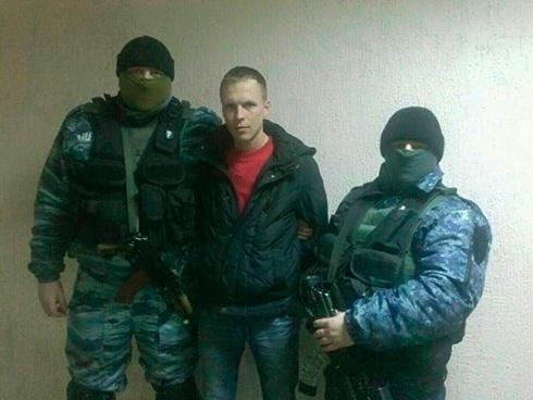 Затримано активного учасника захоплення Харківської ОДА минулого року - фото