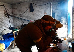 Зранку терористи штурмують Широкіне - фото
