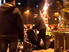 Місце гибелі Нємцова зачистили від квітів