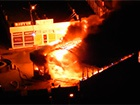 Біля метро «Позняки» сталася пожежа