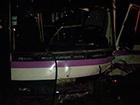 На Львівщині легковик врізався в пасажирський автобус, є постраждалі