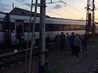 Під Харковом з рейок зійшов потяг Хюндай