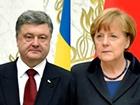 Порошенко розповів Меркель про ескалацію конфлікту на Донбасі