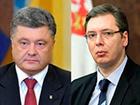 Президент поговорив з прем'єром Сербії про збільшення інспекторів ОБСЄ