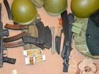 У одесита вилучено арсенал зброї та сепаратистські агітки