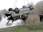 З річки Стир витягнуто автомобіль, виявлено тіла батька та двох синів