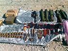 На Дніпропетровщині затримали мікроавтобус, «начинений» зброєю