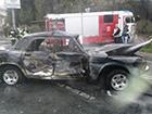 Російські журналісти в Донецьку попали в аварію
