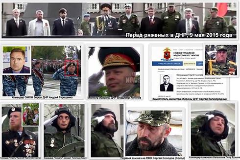 Ряджені на параді т.зв. «ДНР» - одні злочинці - шляху назад їм нема - фото