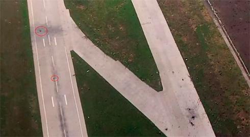 В Генштабі ЗСУ вказали на пошкодження на злітній смузі Донецького аеропорту - фото