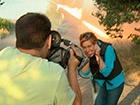 Журналістка RT, яка раділа обстрілу українців, знімає провокативні сюжети під Чорнобилем
