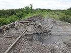 Біля Попасної бойовики підірвали залізничний міст