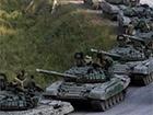Бойовики згромадили багацько броньованої техніки біля Тельманового