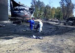 ДСНС: На «БРСМ-Нафті» ознак горіння не спостерігається - фото