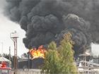 На палаючу нафтобазу півтори години не викликали пожежних, - МВС
