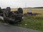 На Полтавщині молоковоз зіткнувся з легковиком, загинули дві людини