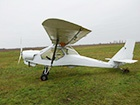 Пенсіонер розбився на саморобному літальному апараті