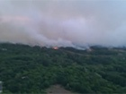 Під Чорнобилем масштабно горить суха трава