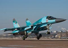 Під Воронежем зазнав аварії Су-34 - фото