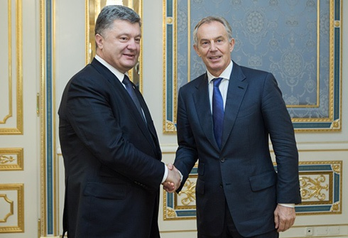Порошенко назвав Блера «справжнім другом України» - фото