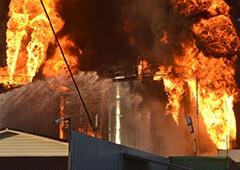 Пожежа у Глевасі: Знайшли тіла трьох рятувальників - фото