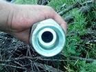 Прикордонники відкопали шланг-«нафтопровід» з Росії