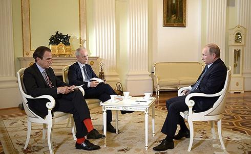 Путін: «Я впевнений, що не Росія винна у погіршенні відносин з Євросоюзом» - фото