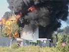 В Глевасі пожежники зупинили вогонь в напрямку до військової частини та нафтобази КЛО