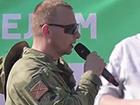 В Новосибірську терористу «ДНР» кричали: «Вбивця!»