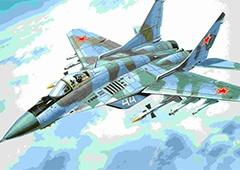 В Росії розбився винищувач Міг-29 - фото