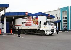 В Україну заїхав 31-й «путінський гуманітарний конвой» - фото