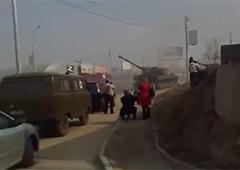 Як нелюди «ДНР» стріляють із САУ, прикриваючись дітьми – відео - фото