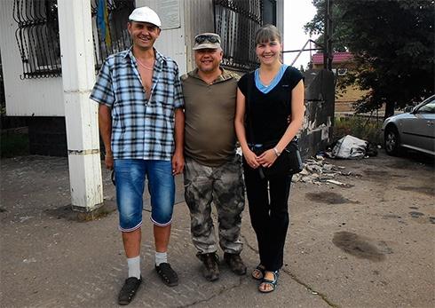 З полону звільнено двох волонтерів - фото