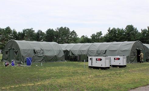 Канада передала ЗСУ мобільний військовий госпіталь, який відправиться в зону АТО - фото