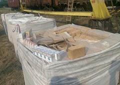 Митники оформили 150 тис пачок цигарок як «брикети паливні прямокутної форми» - фото