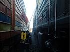 На Миколаївщині загорівся пасажирський поїзд