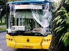 На Оболоні в контролерів автобусу бризнули сльозогінним газом