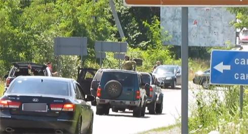 Опубліковано оперативне відео початку конфлікту в Мукачевому - фото