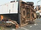 Під Миколаєвом мікроавтобус з пасажирами зіткнувся з вантажівкою
