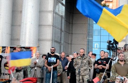 «Правий сектор» ініціює всеукраїнський референдум [відео] - фото