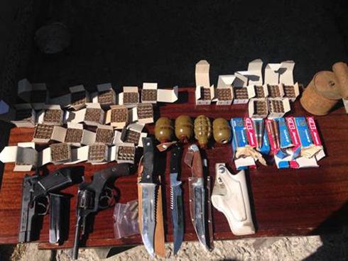 У Броварах СБУ вилучила зброю, привезену з АТО - фото