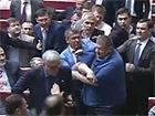 У Раді сталася штовханина між Ігорем Мусійчуком та депутатами БПП