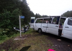 В Красноярському краю в аварії загинуло 11 людей - фото