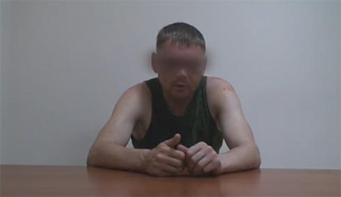 Затриманий майор ЗС РФ розповів про участь у військових діях на сході Україні - фото