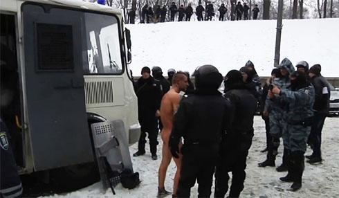 Збочинець з «Беркуту» предстане перед судом за знущання над Гаврилюком - фото