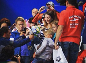 Американський чемпіон в Казані віддав золоту медаль дитині - фото